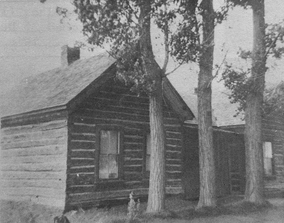 Judson Isaac Tolman's home in Marion, Idaho 1890 to 1905.