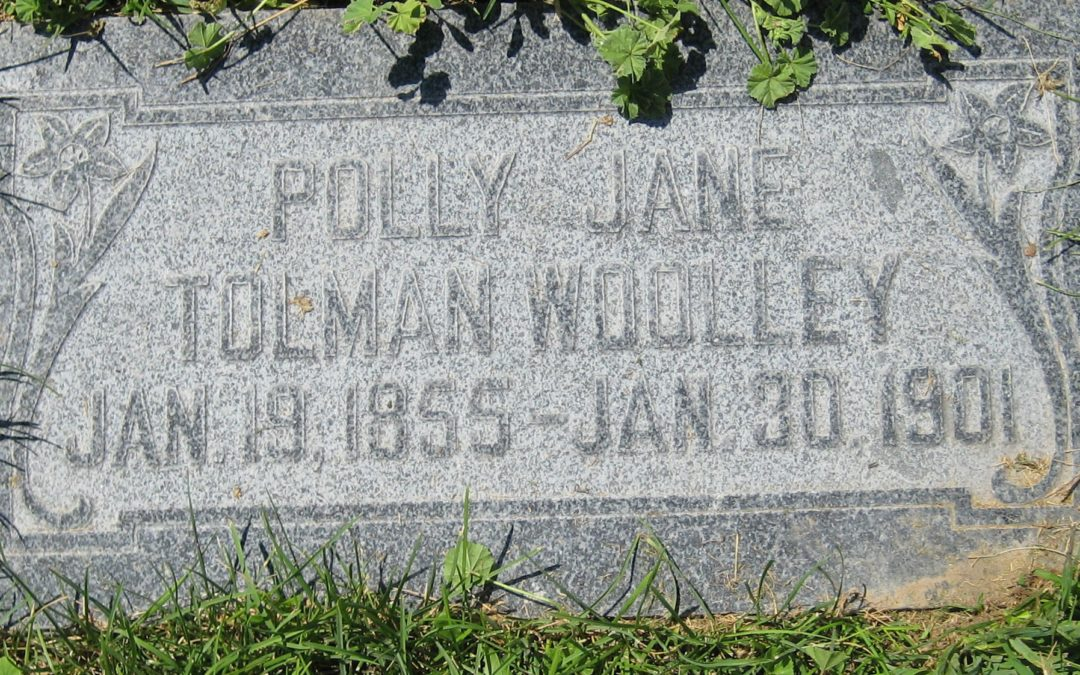 Polly Jane Tolman (1855-1901)