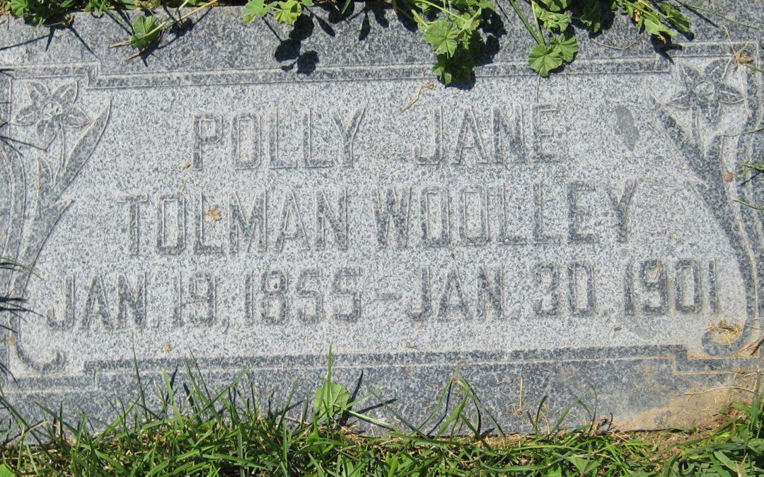 Polly Jane Tolman (1855-1901)