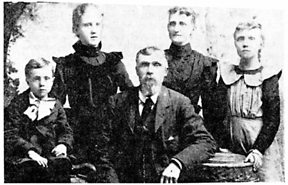 Benjamin Hewitt Tolman II and his second wife Mary Elizabeth Neely Smith