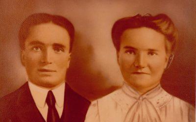 Cyrus Oakley Tolman and Sarah Ann Hunt