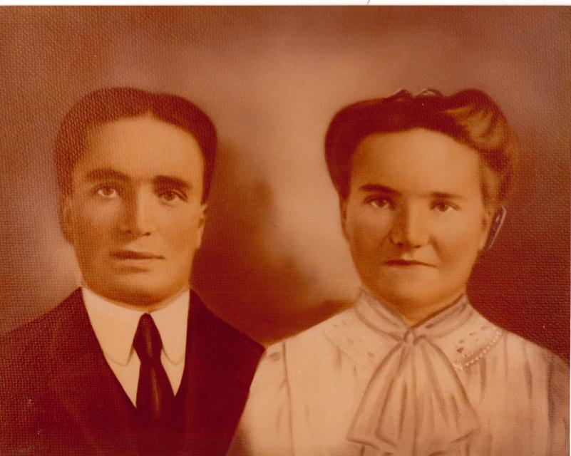 Cyrus Oakley Tolman and Sarah Ann Hunt