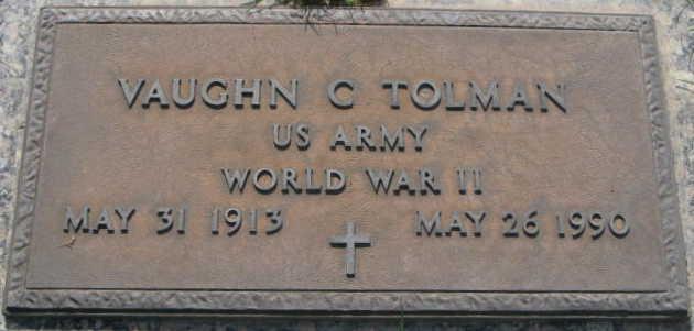 Vaughn Cyril Tolman History (1913-1990)
